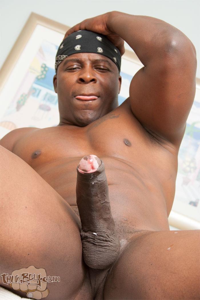 Thug-Boy-Danger-Naked-College-Football-Player-Jerking-off-His-Big-Black-Uncut-Cock-32 Former College Football Player Jerking His Big Black Uncut Horse Cock