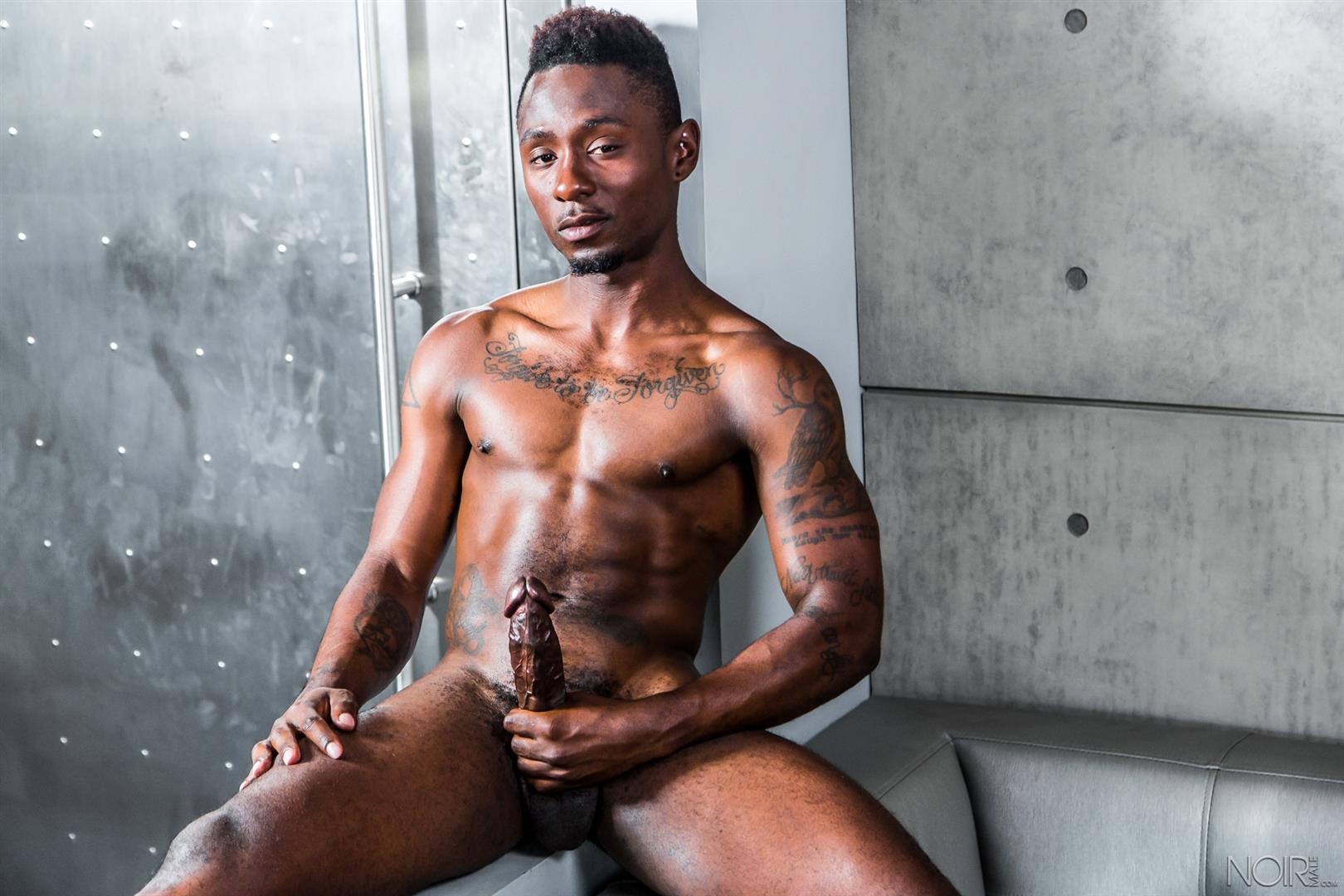 Twink Gets An Interracial Mouthful Of Big Cocks