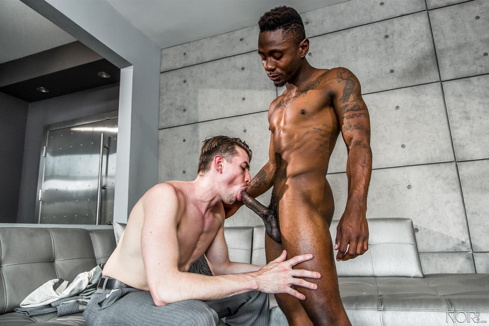 Hungry Gay Gets A Mouthful Of Cock