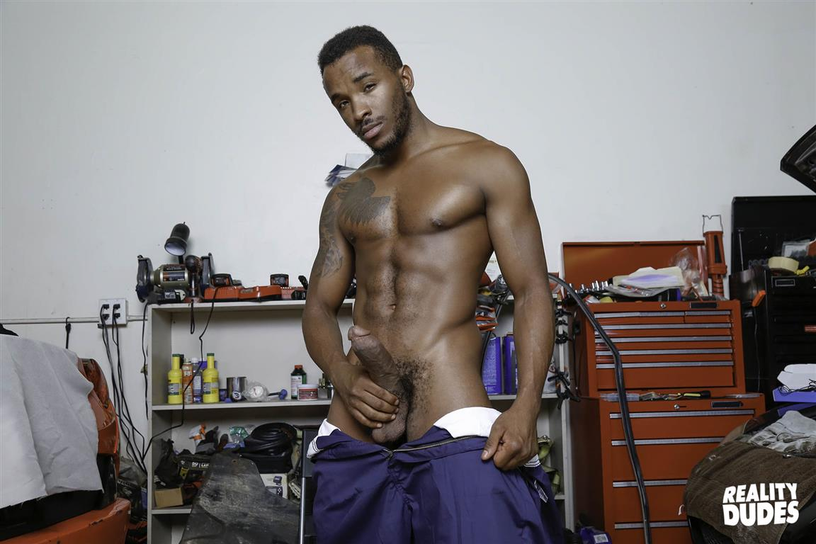 Reality-Dudes-Aston-Springs-and-Phoenix-Fellington-Interracial-Big-Black-Cock-Bareback-Sex-04 My Big Black Dick Auto Mechanic Barebacked Me In The Ass