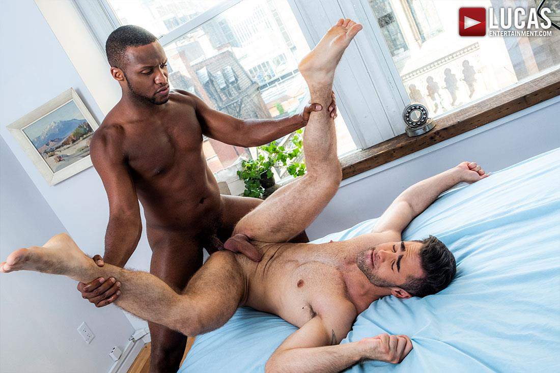Lucas-Entertainment-Lucas-Leon-and-Andre-Donovan-Interracial-Big-Black-Dick-17 Andre Donovan Fucking Lucas Leon With His Raw Big Black Cock