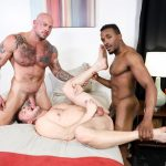 Extra-Big-Dicks-Sean-Duran-and-Hans-Berlin-and-Pheonix-Fellington-Interracial-Bareback-15-150x150 Muscle Daddies Sean Duran and Hans Berlin Share Pheonix Fellington's Big Black Cock
