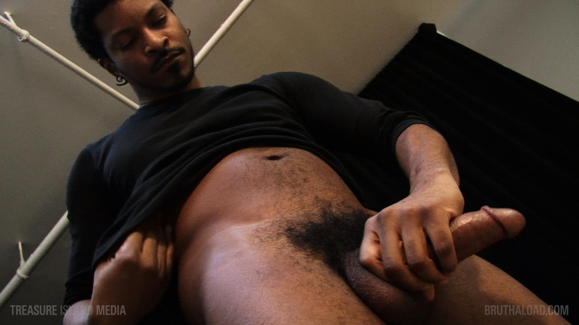 Treasure-Island-Media-Bruthaload-Devin-Masters-Big-Black-Uncut-Cock-07 Treasure Island Media's Bruthaload: Devin Masters Edging His Big Black Uncut Cock