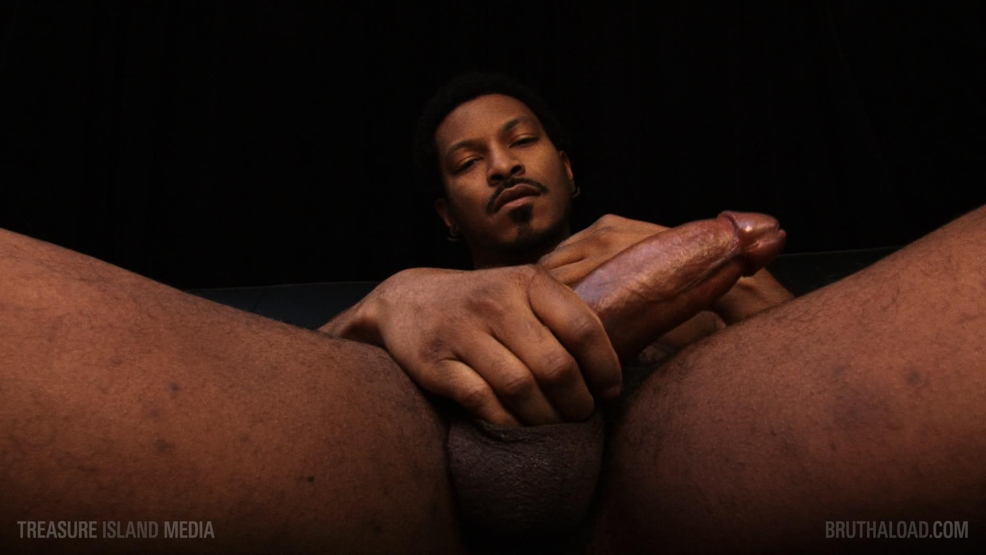 Treasure-Island-Media-Bruthaload-Devin-Masters-Big-Black-Uncut-Cock-13 Treasure Island Media's Bruthaload: Devin Masters Edging His Big Black Uncut Cock