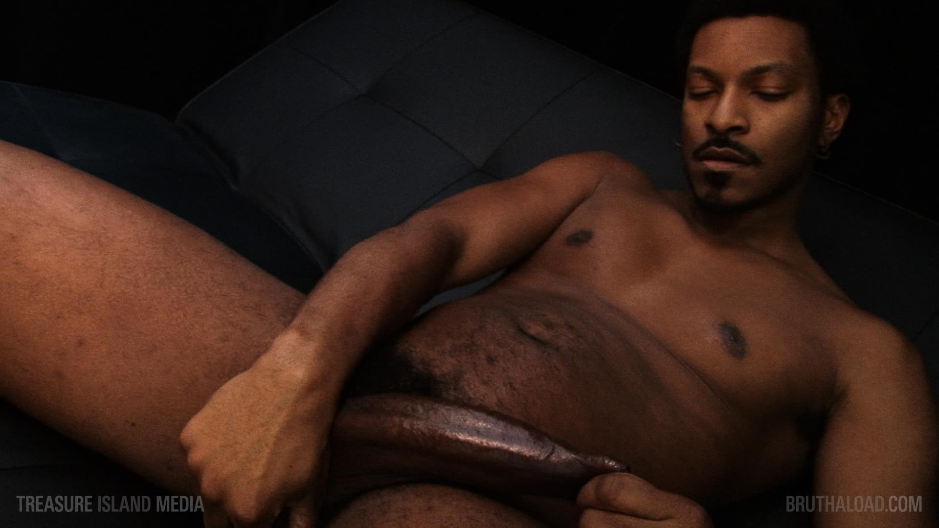 Treasure-Island-Media-Bruthaload-Devin-Masters-Big-Black-Uncut-Cock-14 Treasure Island Media's Bruthaload: Devin Masters Edging His Big Black Uncut Cock
