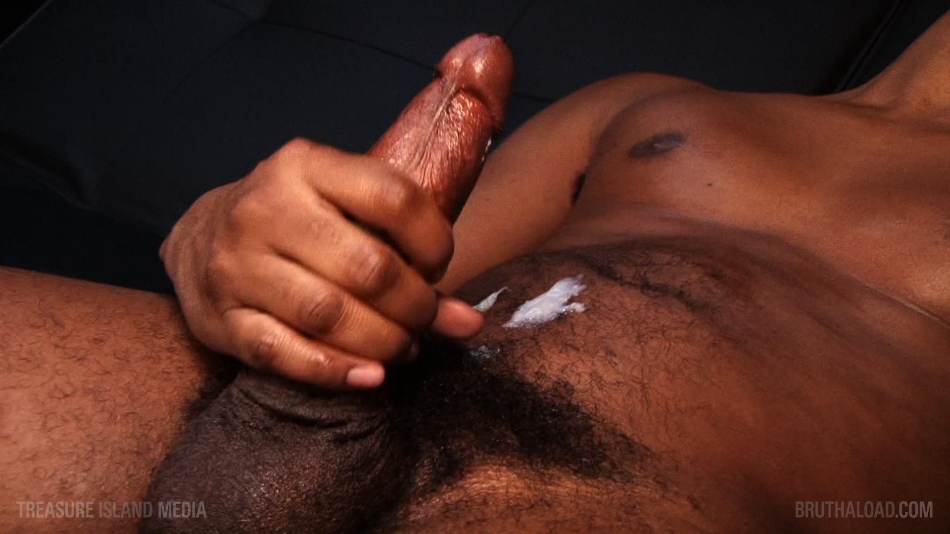 Treasure-Island-Media-Bruthaload-Devin-Masters-Big-Black-Uncut-Cock-23 Treasure Island Media's Bruthaload: Devin Masters Edging His Big Black Uncut Cock