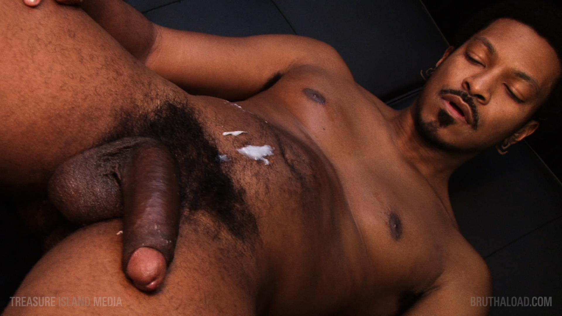 Treasure-Island-Media-Bruthaload-Devin-Masters-Big-Black-Uncut-Cock-25 Treasure Island Media's Bruthaload: Devin Masters Edging His Big Black Uncut Cock